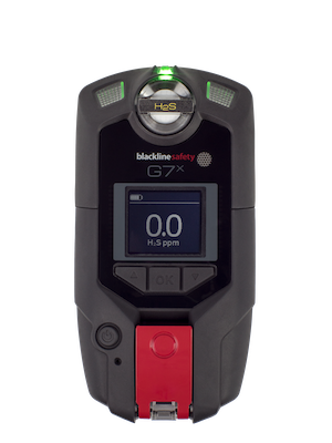 G7x front with single-gas H2S cartridge